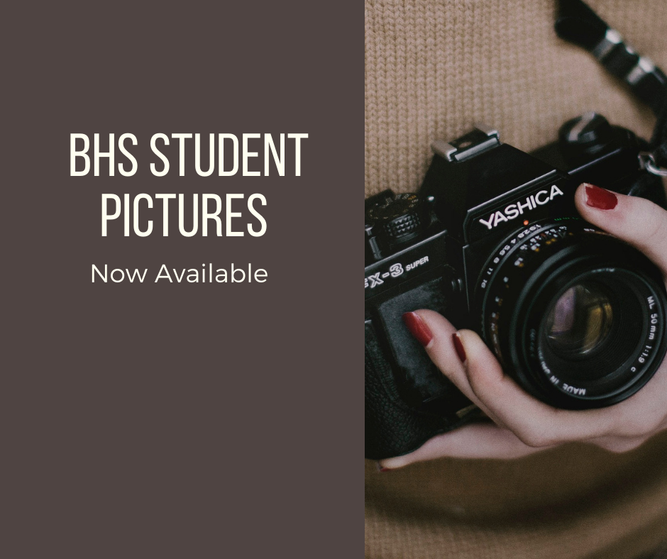 BHS Student Pictures Now Available