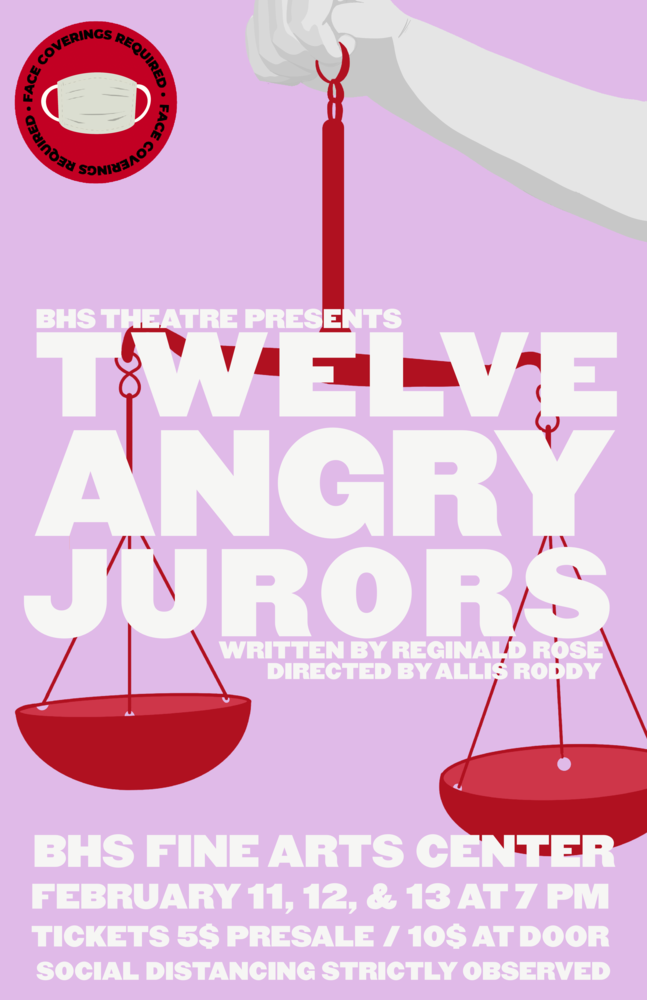 ​BHS Theatre presents Twelve Angry Jurors by Reginald Rose