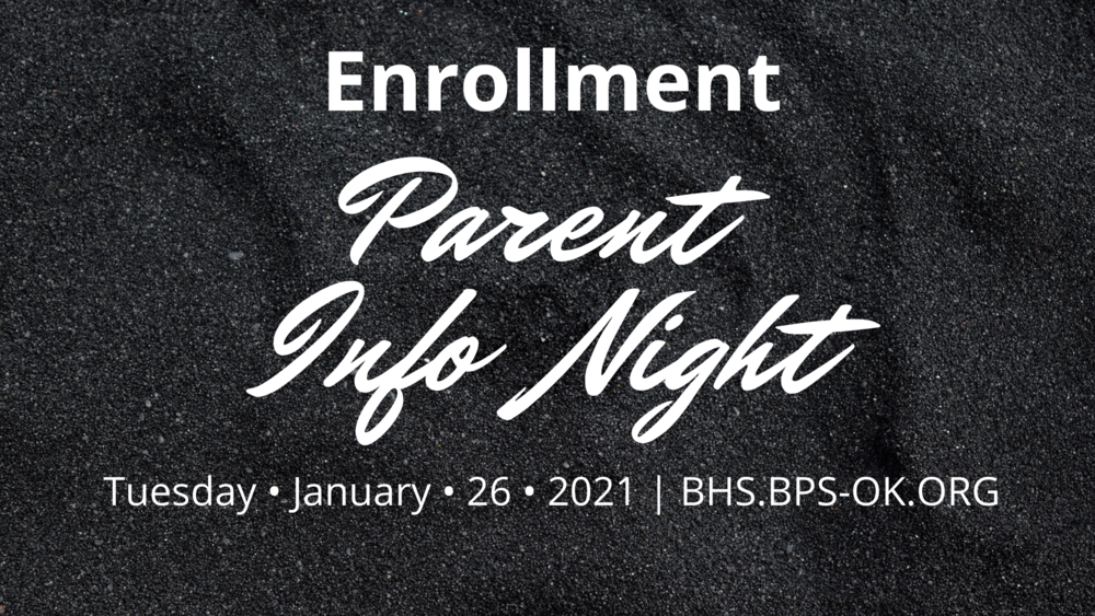 Enrollment Parent Info Night
