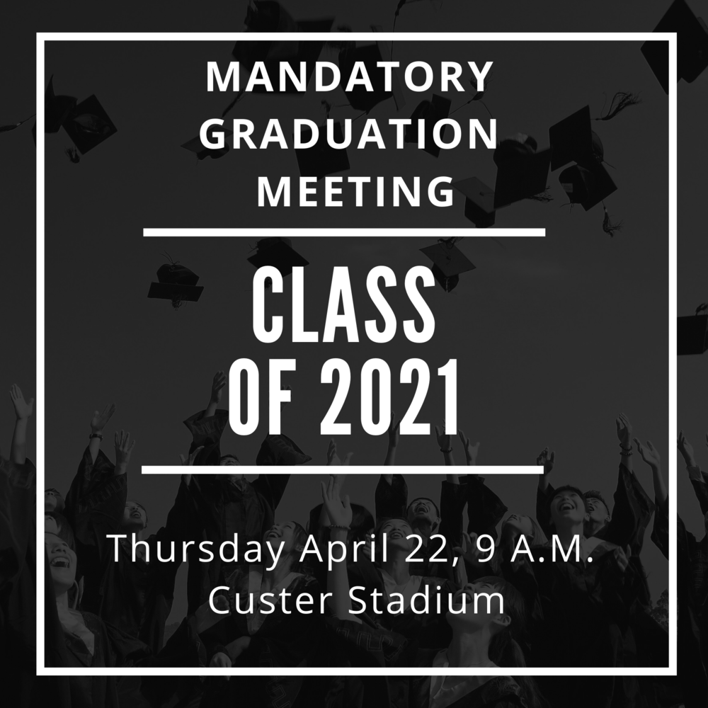 Mandatory Graduation Meeting for Seniors