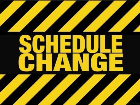 BHS Schedule Change April 7th