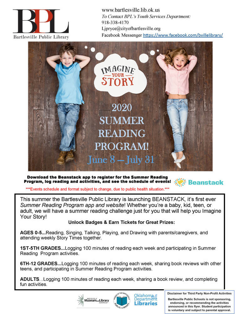 BPL Summer Reading Program