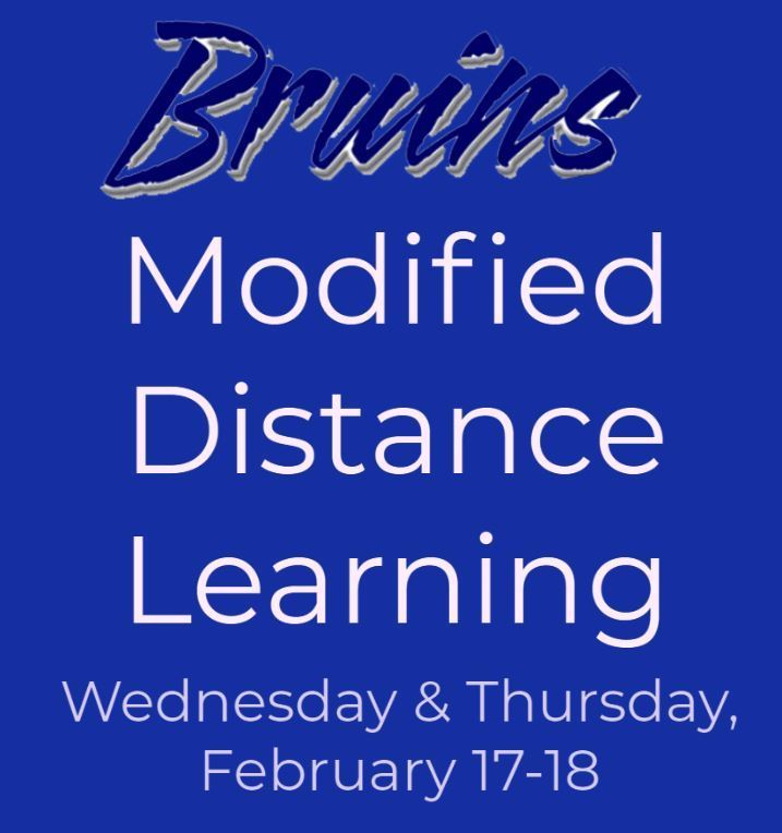 Distance Learning on 2/17-18