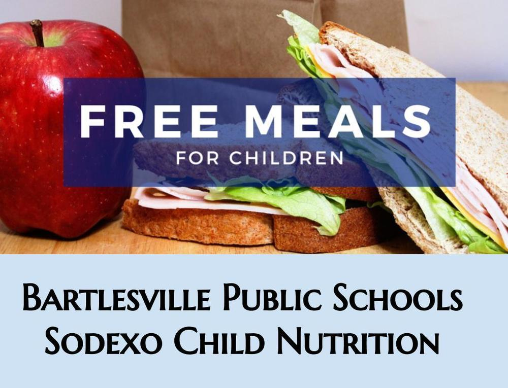 Free meals in June & July