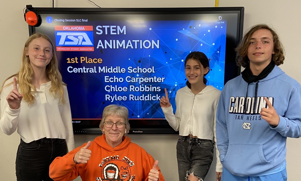 Central's STEM Animation Team is #1 in the State