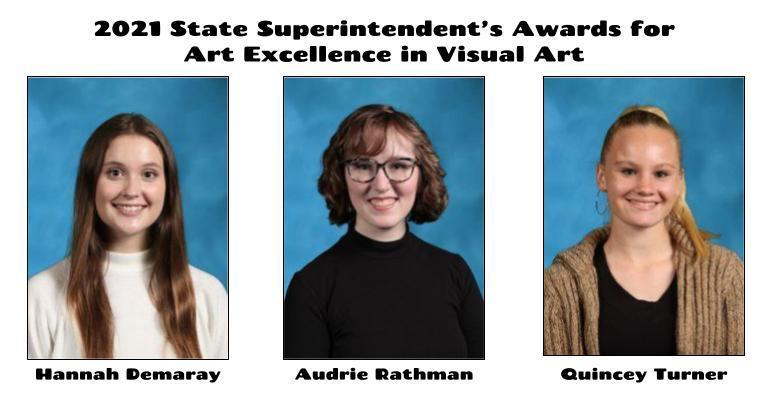 Bartlesville High School arts students receive virtual recognition