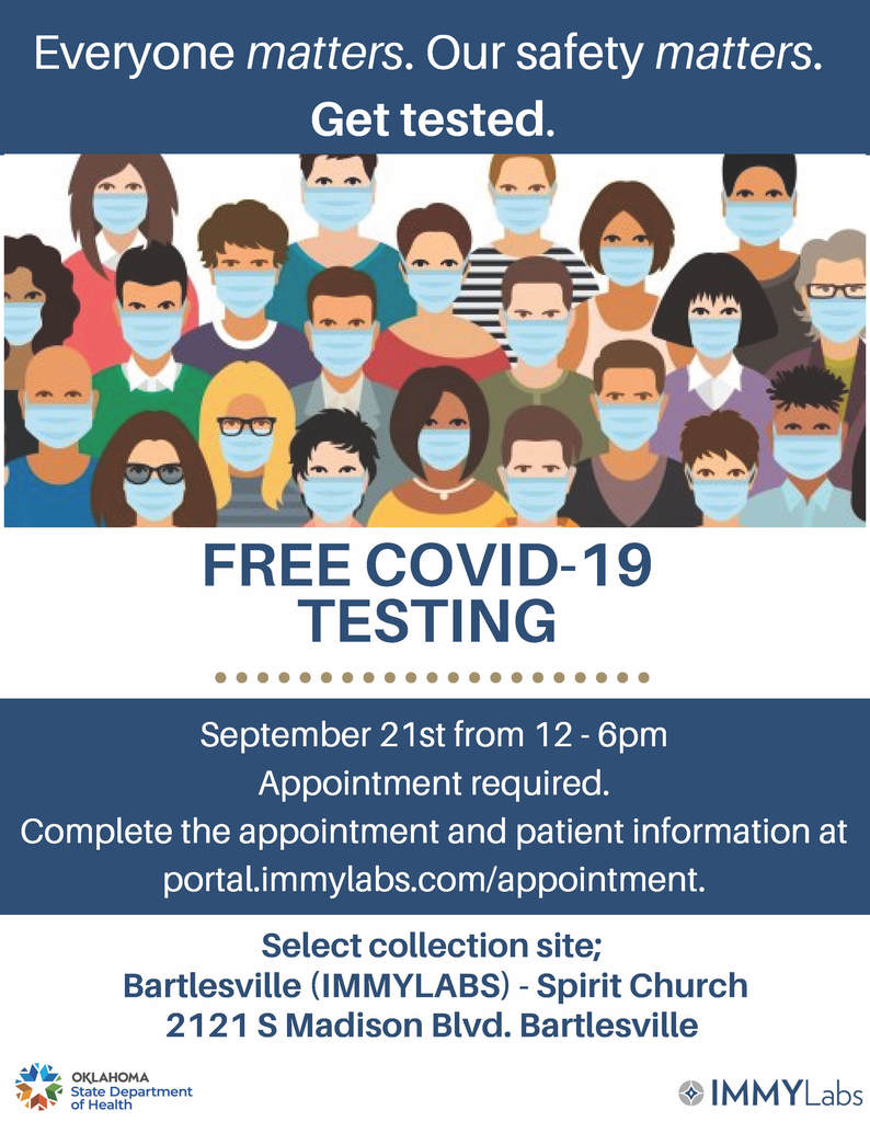 COVID-19 testing on 9/21/2020